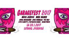 Garagefest: Mikko Joensuu, Mirel Wagner, Jukka Nousiainen, Juice Normaali, The Holy, Litku Klemetti & Tuntematon Numero, Sakari Preuss - Lutakko, Jyväskylä - 28.1.2017 - Tiketti