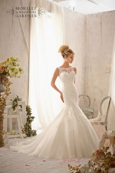 Mori Lee 2610 wedding dress • The latest Mori Lee bridal collection is full of gorgeous sparkly princess gowns