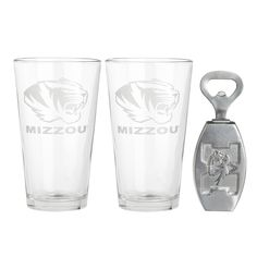 University Of Missouri Pub Glass/Opener Set from Arthur Court in Gainesvile, FL from Kitchen & Spice