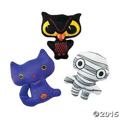 Plush Halloween Mini Pillow Characters