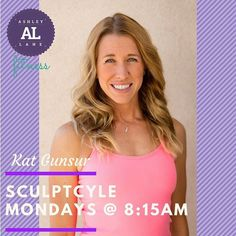 Have you tried Monday morning SculptCycle at 8:00 with @katgunsur yet? It is the perfect way to kick off your week sign up now!