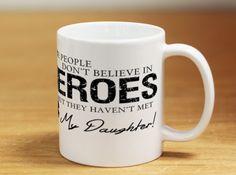 Hero Daughter EMT 15oz Coffee Mug