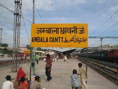 Ambala Cantonment Railway Station, Ambala Cantt, Haryana, India