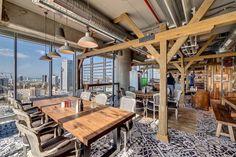 Sneak Peek at Google's Incredible New Offices in Tel Aviv, Israel #interior #google #office