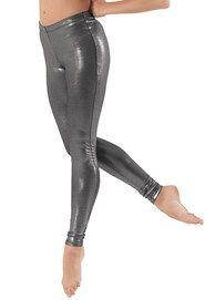 Premium Metallic Ankle-Length Legging   Balera™