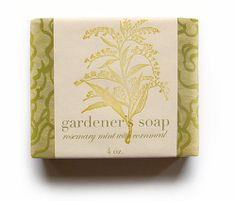 gardener's soap from Pink Olive - $12.00