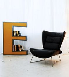 I need this Letter E bookcase!