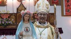 Vaticano muestra preocupación por Obispo secuestrado por autoridades de China 26/06/2017 - 06:34 am .- El Vaticano ha mostrado su preocupación por Mons. Pietro Shao Zhumin, obispo de la diócesis china de Wenzhou, detenido el pasado mes de mayo por la policía comunista del país y del que no se tienen noticias.
