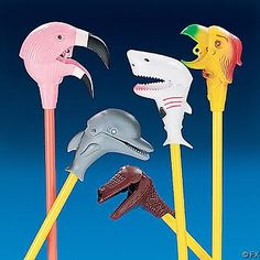 animal stick - we've still got the shark one at mum and dads place and now my nieces play with it :D