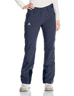 Salomon Women's Iceglory Pant, Big Blue-X, Medium/Regular...