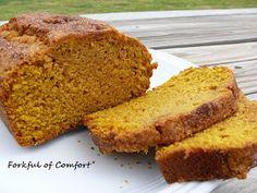 Forkful of Comfort: Pumpkin Pie Bread