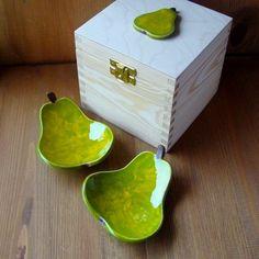 Miseczki gruszeczki (proj. AKo.Art), do kupienia w DecoBazaar.com