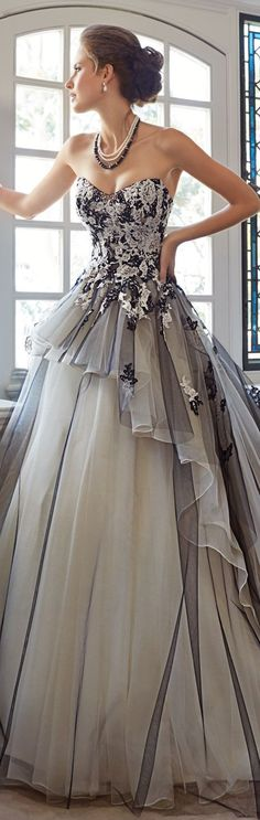 Sophia Tolli...now I just need an event to wear it to!