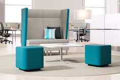 The Villa Collection is the perfect solution to creating and customizing gathering spaces. Villa by Kimball Office.