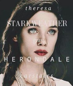 I feel like people forget that Tessa is a Starkweather too, so I was glad when that name was included as well.