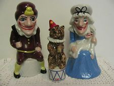 Rare Wade Blow Up Punch and Judy w/Toby, LE, Excellent Condition