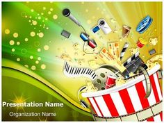 62 Best Entertainment Powerpoint Templates Backgrounds