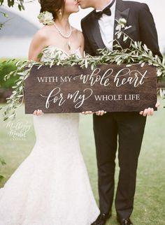 Wedding Planning Welcome your guests with this beautiful, hand painted wedding sign that is sure to make a statement! Display your sign just about anywhere, on an easel, used as a photo prop, or leaning for a casual display. Perfect Wedding, Dream Wedding, Wedding Day, Wedding Favors, Wedding Centerpieces, Wedding Venues, Wedding Invitations, Wedding Gifts, Godly Wedding