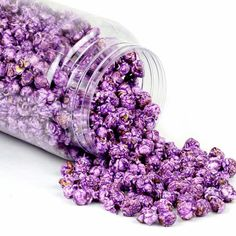 Purple Candy Coated Popcorn - Grape http://whytaboo.com.au/ Where nothing is taboo