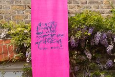 Lettering on silk - Rosalind Wyatt 2016 Some Pictures, Lily Pulitzer, Lettering, Silk, Projects, Art, Log Projects, Art Background, Blue Prints