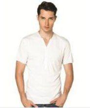 hip and bone Pima Henley (White) gifters.com white shirts for men White Shirt Men, Classic White Shirt, White Shirts, Shopping Sites, Mens Tops, White Tee Shirts