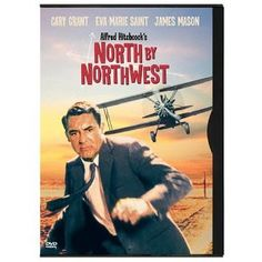 """""""North by Northwest"""" starring Cary Grant, Eva Marie Saint (1959)"""
