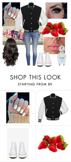 """""""South Park: Clyde D."""" by grandmasfood ❤ liked on Polyvore featuring Converse and Marc Jacobs"""