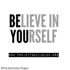 The greatest success is being yourself.   www.projectsemicolon.org  #semicolonproject416 #StayStrong