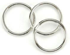 Split Key Nickel Ring - 1