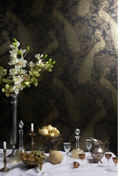 """Byron Wallpaper.   like the """"antique effect"""""""