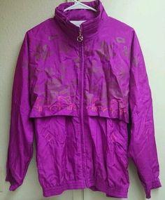 Euc vintage motorcycle jacket heavy brooks leather sportswear mens l vintage rare retro womens pink diadora windbreaker jacket large diadora gumiabroncs Gallery