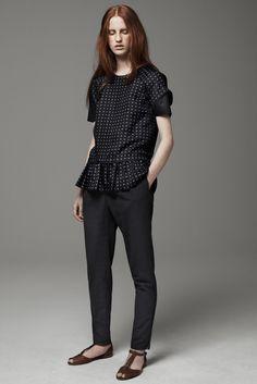 Thakoon Addition Pre-Fall 2013 Fashion Show - Magdalena Jasek
