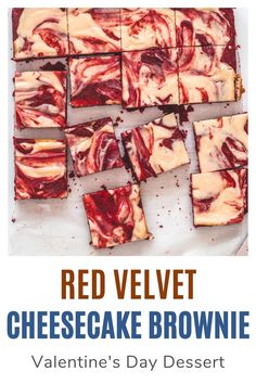 Hey brownie lovers, this recipe is for you. These red velvet cheesecake brownies have a rich and fudgy brownie base with a swirl of tangy, creamy, sweet cheesecake. Because my family doesn't eat eggs, I have made these without eggs. Brownie Cookies, No Bake Cookies, Brownie Recipes, Cookie Recipes, Red Velvet Cheesecake Brownies, Favorite Cookie Recipe, Valentines Day Desserts, Fudgy Brownies, Spice Things Up