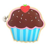 Porta moedas CHOCOLATE STRAWBERRY CUPCAKE