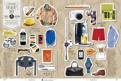 Today's Parent - Father's Day Gift Guide by Patricia Cavazzini, via Behance Page Layout Design, Magazine Layout Design, Web Layout, Magazine Layouts, Editorial Layout, Editorial Design, Best Fashion Magazines, Catalogue Layout, Graphic Design Brochure