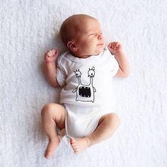 Cute Monster Baby Onesies Unisex