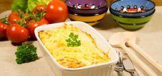 Heerlijke gegratineerde tortilla uit de oven waarin minder zout is verwerkt door wat aangepaste ingrediënten. Nieuwsgierig? Hier is het recept!