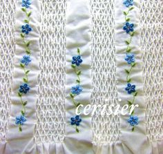 heirloom sewing and smocking | Smocking Embroidery
