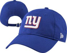 c8fe21636ce New York Giants Womens Blue New Era 9FORTY Essential Adjustable Hat -   19.99 New Era 9forty