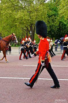 Changing the Guard, Buckingham Palace, London, England