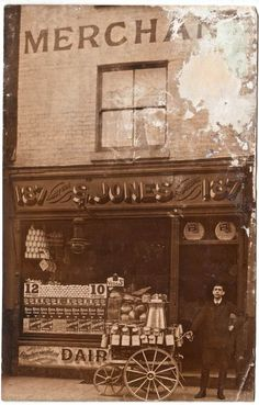 S.Jones, Dairy, 187 Bethnal Green Rd Mernick's East London Shopfronts