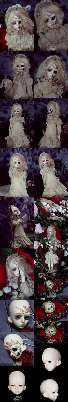 "BJD ""Not For Sell"" Head ROSBLY (6th Anniversary Event Head) fit for MSD Body Boll-jointed doll_Doll Leaves_DOLL_Ball Jointed Dolls (BJD) company-Legenddoll"