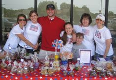 Great American Bake Sale, sponsored by Share Our Strength an organization that hopes to end childhood hunger by 2015