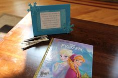 Have party guests sign a story book like a guest book so bday child will always remember who was at the party Frozen 3rd Birthday, Elsa Birthday Party, Birthday Party Celebration, Halloween Birthday, Baby First Birthday, 3rd Birthday Parties, Birthday Party Invitations, Birthday Ideas, 4th Birthday