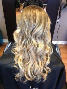 Blonde Ombre #HairByKimberly