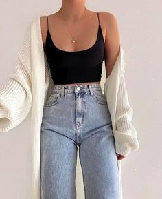 Fashion Inspiration And Trend Outfits For Casual Look - Fashion Inspiration And Trend Outfits For Casual Look You are in the right place about diy projects - Teen Fashion Outfits, Retro Outfits, Mode Outfits, Look Fashion, Korean Fashion, Fall Outfits, Summer Outfits, Girl Fashion, Fashion Tips