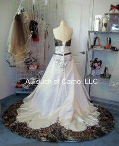 Camo Redneck Wedding Dress