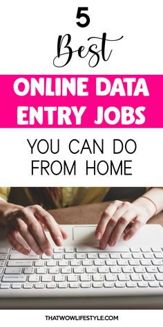 Are you keen to make some money online from home? I have for you 10 of the best data-entry jobs from legit companies to make a living online. Online Data Entry Jobs, Best Online Jobs, Earn Money From Home, Earn Money Online, How To Make Money, Job Posting Sites, Job Resume, Work From Home Tips, Find A Job