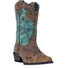 Dan Post Kid's Blue Bird Western Boots