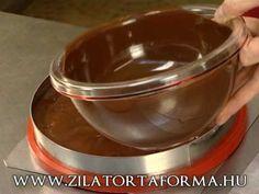 Zila Tortaforma 5. rész: Mignonok / ganache Chocolate Fondue, Fondant, Pudding, Recipes, Cakes, Food, Google, Cake Makers, Custard Pudding
